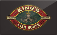 Buy King's Fish House Gift Card