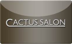 Sell Cactus Salon and Spa Gift Card
