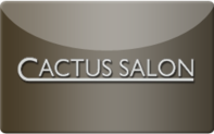 Buy Cactus Salon and Spa Gift Card