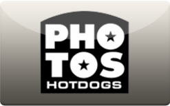 Sell Photo's Hotdogs Gift Card