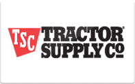 Buy Tractor Supply Company Gift Card