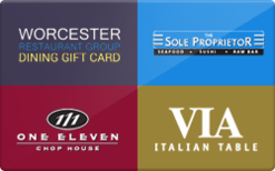 Buy Worcester Restaurant Group Gift Card