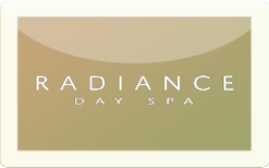 Sell Radiance Day Spa Gift Card