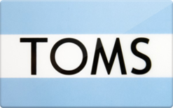 Sell TOMS Shoes Gift Card