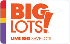 Sell Big Lots Gift Card