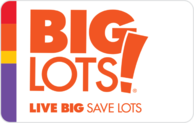 Buy Big Lots Gift Card