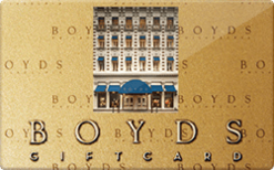 Sell Boyds Gift Card
