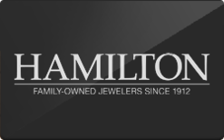 Sell Hamilton Jewelers Gift Card