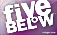 Buy Five Below Gift Card