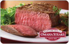 Buy Omaha Steaks Gift Card