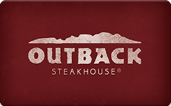 Buy Outback Steakhouse (Physical) Gift Card
