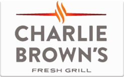Sell Charlie Brown's Fresh Grill Gift Card