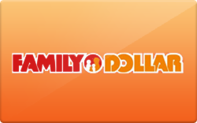 Buy Family Dollar Gift Card