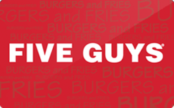 Sell Five Guys Gift Card